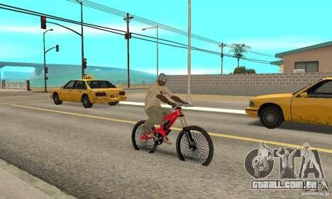 Novo BMX para GTA San Andreas vista direita