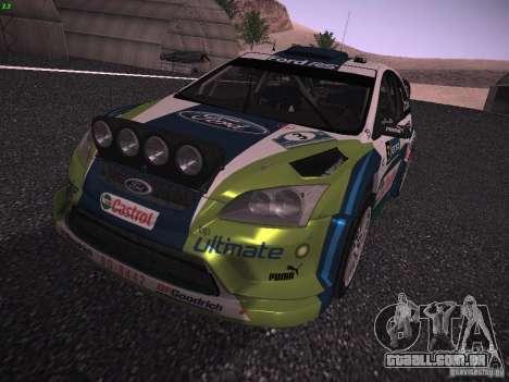 Ford Focus RS WRC 2006 para GTA San Andreas