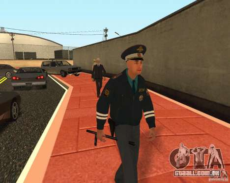 Major DPS para GTA San Andreas por diante tela