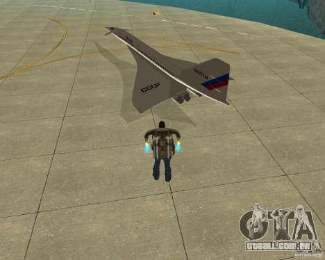 Tupolev TU-144 para GTA San Andreas