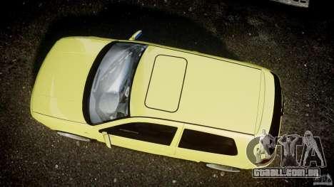 Volkswagen Golf IV R32 para GTA 4 vista de volta