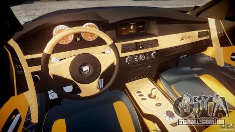 BMW M5 Lumma Tuning [BETA] para GTA 4 vista de volta