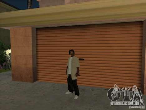 Snoop Dogg Ped para GTA San Andreas segunda tela