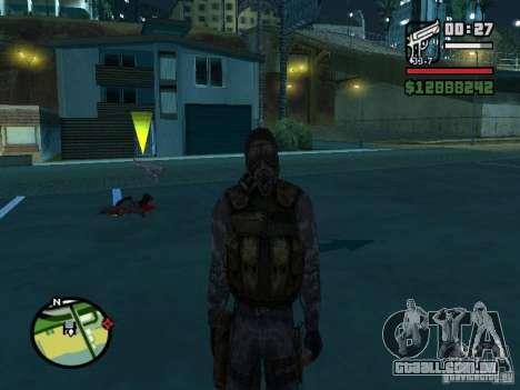 Mercenário de perseguidor no novo kombeze para GTA San Andreas