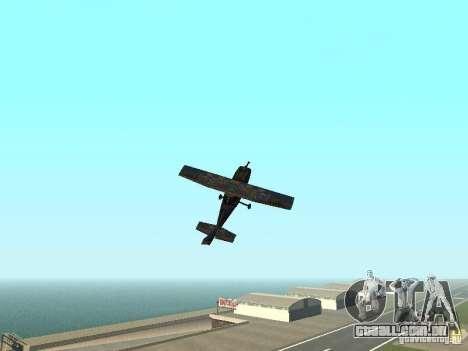 Um novo avião-Dodo para vista lateral GTA San Andreas