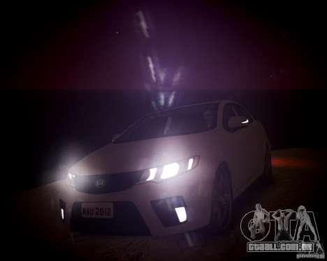Kia Cerato Koup 2011 para GTA 4 vista lateral