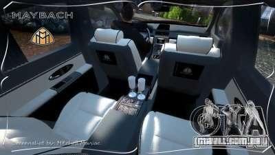 Maybach 57S para GTA 4 vista direita