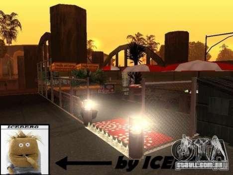 Nev Groove Street 1.0 para GTA San Andreas quinto tela