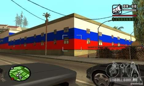 Hotel russo para GTA San Andreas segunda tela