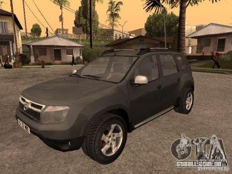 Dacia Duster para GTA San Andreas traseira esquerda vista