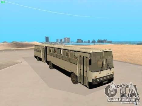 IKARUS 280.03 para GTA San Andreas vista direita