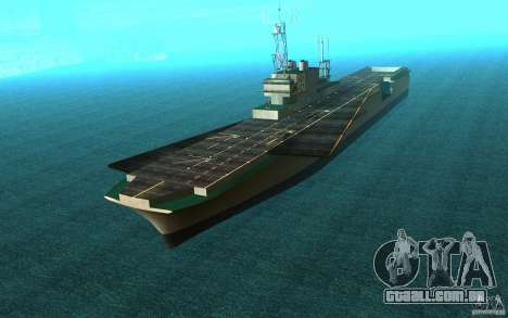 New Aircraft carrier para GTA San Andreas