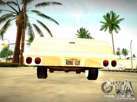Chevrolet El Camino 1976 para GTA San Andreas vista direita