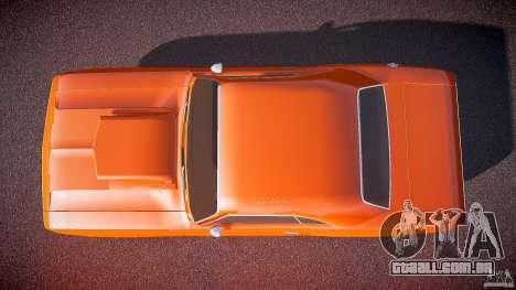 Dodge Challenger v1.0 1970 para GTA 4 vista direita