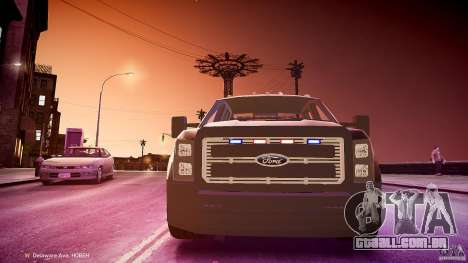 Ford F-350 Unmarked [ELS] para GTA 4 vista interior