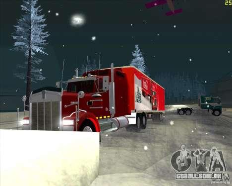 O trailer para o Trailer de Coca-Cola para GTA San Andreas esquerda vista