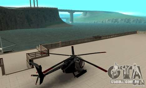 AH-6C Little Bird para GTA San Andreas