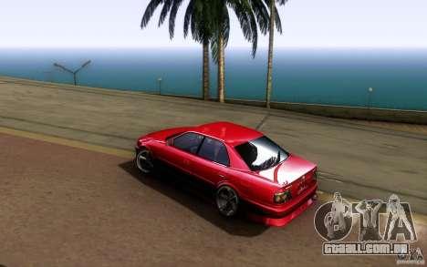 Toyota Chaser JZX100 para GTA San Andreas vista traseira