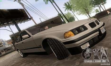 BMW 320i E36 para GTA San Andreas vista direita