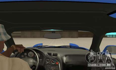 Mazda RX-7 Pickup para GTA San Andreas vista interior