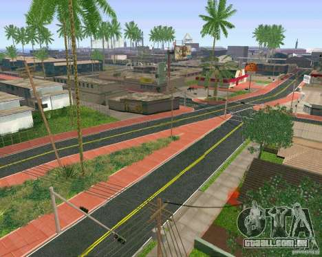 Novas texturas de Los Santos para GTA San Andreas terceira tela