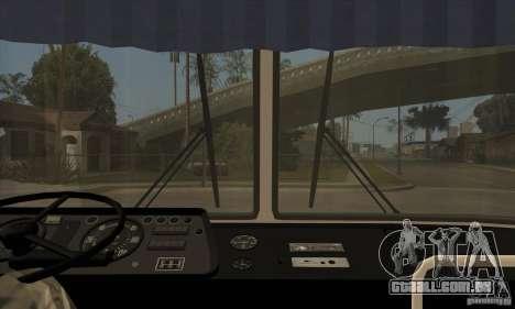 LAZ 699R (98-02) para GTA San Andreas vista interior