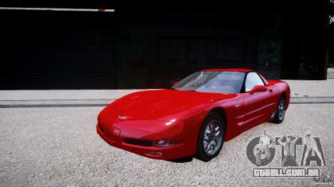 Chevrolet Corvette C5 v.1.0 EPM para GTA 4