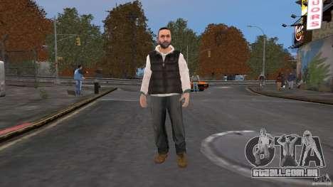 Player Selector para GTA 4 quinto tela