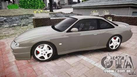 Nissan 200SX para GTA 4 esquerda vista