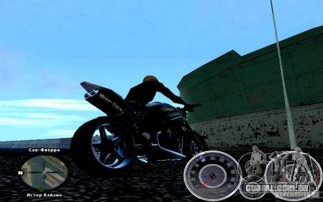 Script Chevrolet Camaro Spedometr para GTA San Andreas segunda tela