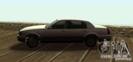 Washington de GTA IV para GTA San Andreas traseira esquerda vista