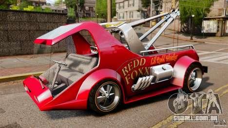 Lil Redd Wrecker para GTA 4 esquerda vista