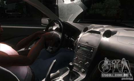 Toyota Celica-SS2 Tuning v1.1 para GTA San Andreas vista interior