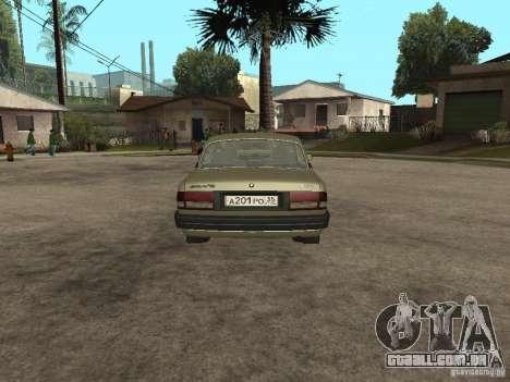 GAZ 3110 v 1 para GTA San Andreas traseira esquerda vista