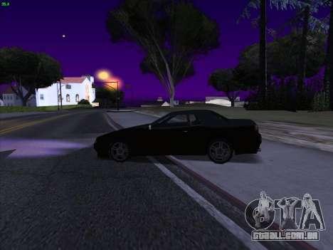 Elegy S13 para GTA San Andreas traseira esquerda vista