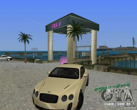 Bentley Continental SS para GTA Vice City