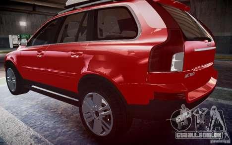 Volvo XC 90 para GTA 4 esquerda vista