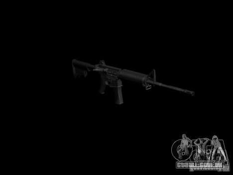 Armas do GTA 4 para GTA San Andreas nono tela