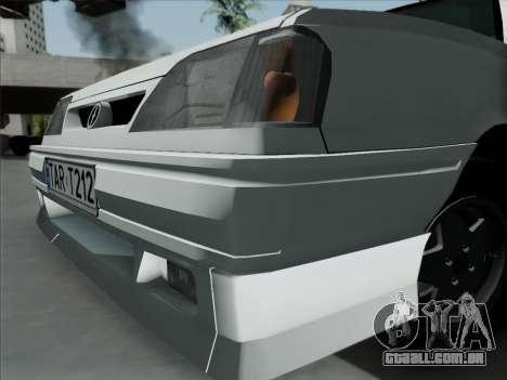 FSO Polonez Caro Orciari 1.4 GLI 16v para GTA San Andreas traseira esquerda vista