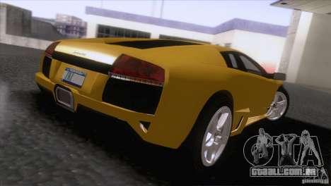 Lamborghini Murcielago LP640 2006 V1.0 para GTA San Andreas traseira esquerda vista