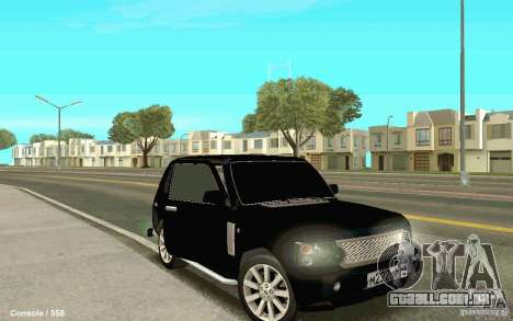 Lada Niva para GTA San Andreas vista direita