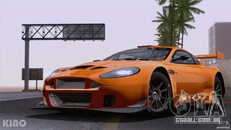 Aston Martin Racing DBRS9 GT3 para GTA San Andreas vista interior