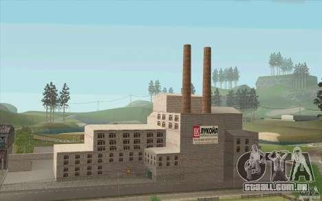 Empresa de petróleo Lukoil para GTA San Andreas