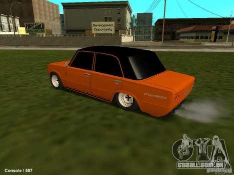 VAZ 2101 Hobo para GTA San Andreas vista traseira