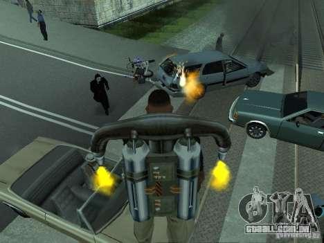 As máquinas de explosão realista para GTA San Andreas quinto tela