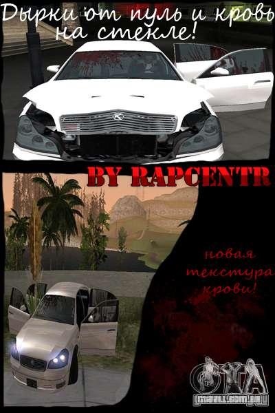 Car crash from GTA IV para GTA San Andreas