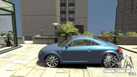 Audi TT 1.8 (8N) para GTA 4 esquerda vista