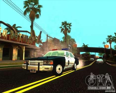 Chevrolet Caprice 1986 SFPD para GTA San Andreas