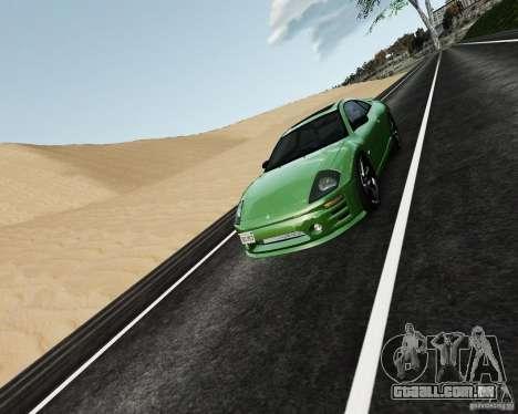 Mitsubishi Eclipse GT-S para GTA 4 vista lateral