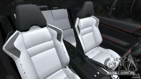 Scion FR-S para GTA 4 vista interior